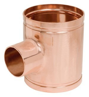 "4"" X 1-1/2"" Copper Reducing Tee"