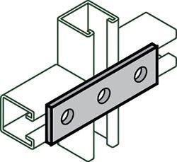Channel Splice Plate, Carbon Steel