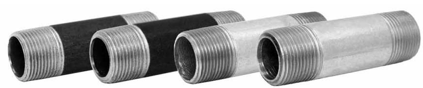 "1/8"" X 1-1/2"" Galvanized Steel Nipple Schedule 40 Domestic"