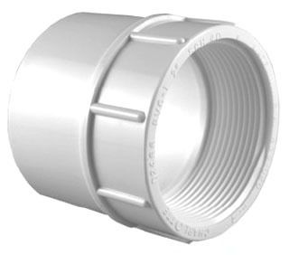"3/4"" PVC Female Adapter Schedule 40 S"