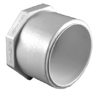 "2"" PVC Octagon Head Plug SCH 40"