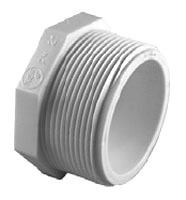 "1"" PVC Hex Head Plug SCH 40"
