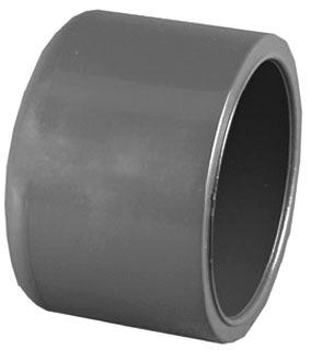 "1/2"" PVC DWV Round Head Cap - SCH 80, Socket"