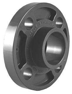 """1"""" PVC 1-Piece Flange - 150 psi"""
