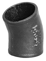"2"" Cast Iron DWV 22.5D Elbow"