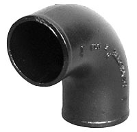"2"" Cast Iron DWV 90D Elbow"