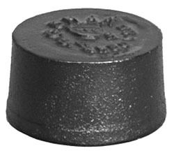 "4"" Cast Iron DWV Blind Plug"