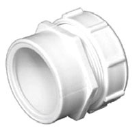 "1-1/2"" PVC DWV Trap Adapter"