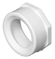 "10"" X 8"" Injection Molded PVC DWV Flush Reducing Bushing"