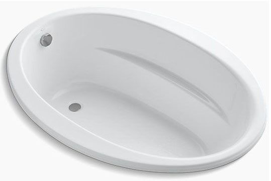 "60"" x 42"" Drop-In Bathtub - Sunward, White"