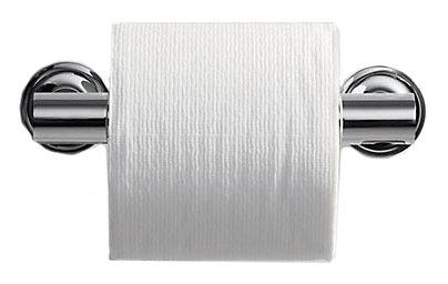 Purist Toilet Paper Holder Vibrant Moderne Brushed Gold