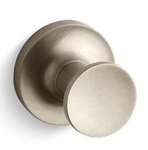 Purist Robe Hook Vibrant Brushed Bronze