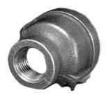 "1/4"" x 1/8"" Malleable Iron Reducing Coupling - FPT"