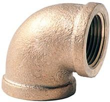 "3/4"" Brass Domestic 90D Elbow"