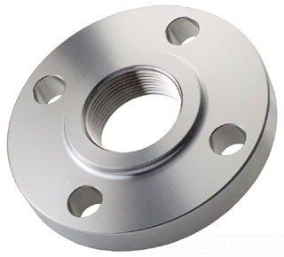 "3"" Stainless Steel Raised Face Flange - FPT, 150 psi"