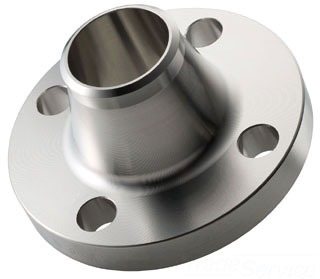 """2"""" Stainless Steel Raised Face Weld Neck Flange - 150 psi"""