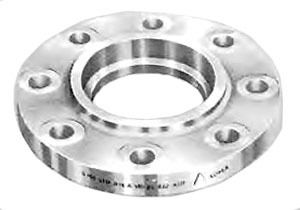 "1-1/2"" Stainless Steel Raised Face Flange - Socket Weld, 150 psi"