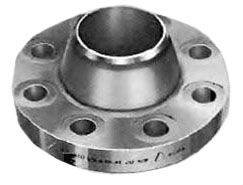 """4"""" Stainless Steel Weld Neck Flange - 300 psi, 316/316L Forged Stainless"""