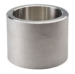 "1/2"" Stainless Steel Straight Coupling - Socket Weld, 3000 psi"