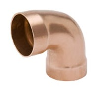 "2"" Wrot Copper DWV 90D Elbow"