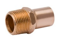 "1-1/2"" Cast Bronze Male Adapter"
