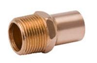 "1-1/2"" Cast Bronze Male Adapter"