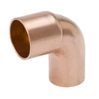 "4"" Wrot Copper Street 90D Elbow"