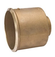 "1-1/2"" X 2"" Wrot Copper DWV Soil Pipe Reducing Adapter"