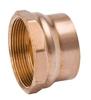 "2"" Wrot Copper DWV Female Adapter"