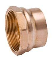 "2"" Wrot Copper DWV Female Adapter"