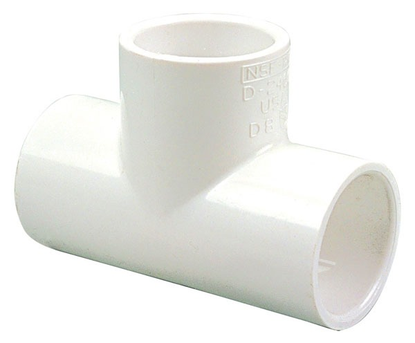 "4"" X 4"" X 3/4"" PVC Reducing Tee SCH 40"