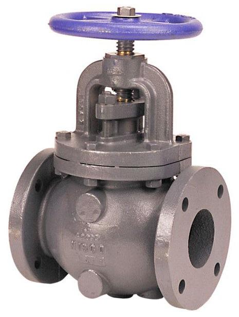 "4"" Cast Iron Globe Valve - Handwheel, Flanged, 125 psi, 125 psi SWP, 200 psi CWP"