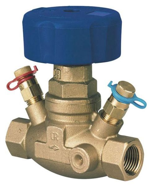 "3/4"" Circuit Balancing Valve - Globe, Brass, FPT, 3 to 8.7 GPM"