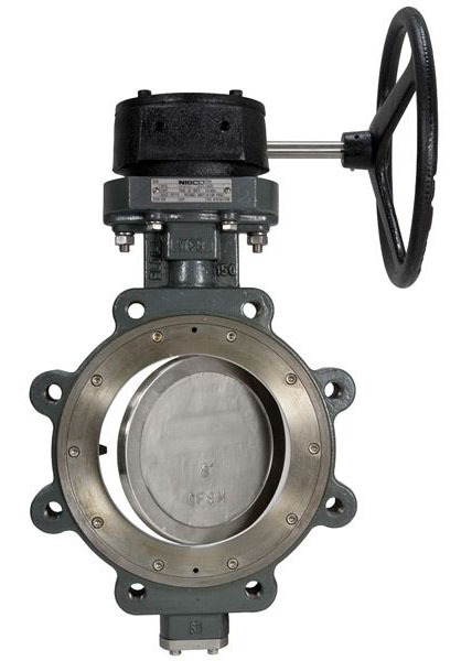 "12"" LCS7822 Grooved Lug Butterfly Valve, Carbon Steel"