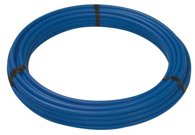 "1/2"" x 100' Blue Cross-Linked Polyethylene Tubing"