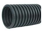 """4"""" x 100' HDPE Drainage Pipe - Solid, Regular, Single Wall"""