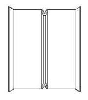 HDPE Dual Wall Watertight Coupling