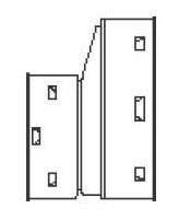 "10 X 8"" HDPE Single Wall Reducing Coupling"