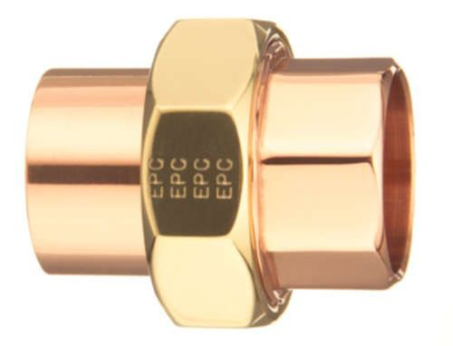 "1-1/4"" Copper Straight Union"