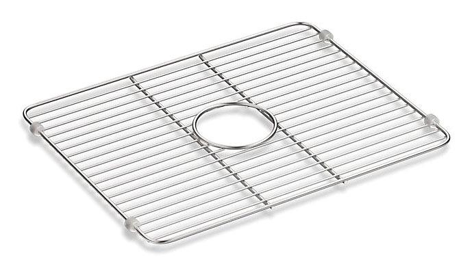 Iron Tone Bottom Basin Rack Large Stainless Steel