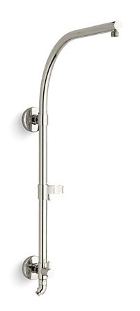Hydrorail-R-Arch Shower Column Vibrant Polished Nickel