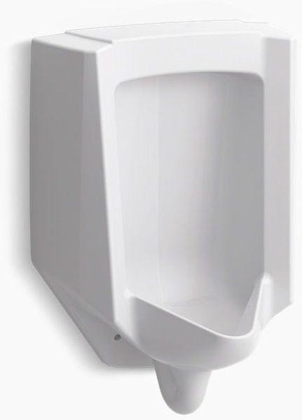 Bardon Accuflush 1/8 GPF Urinal - Rear White