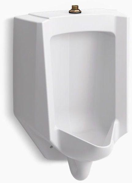 Bardon Washout Flush Action Urinal, Vitreous China 0.125 to 1 GPF White