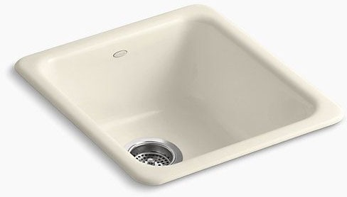 Iron Tones Uc-Self-Rimming Sink Almond
