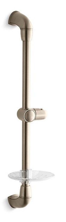 Mastershower 24 Slide Bar Vibrant Brushed Bronze