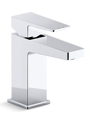 Honesty Deck Mount Bathroom Sink Faucet, Polished Chrome