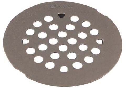 Round Snap-In Shower Drain Cover, Oil Rubbed Bronze