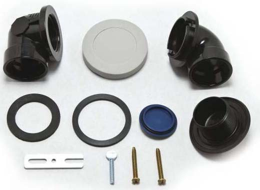 Drain Rough-In Kit - M-Pact, ABS