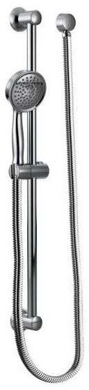 "Hand Shower - 4-1/4"" Face, Chrome Plated, 1-Way, 2 GPM at 80 psi"