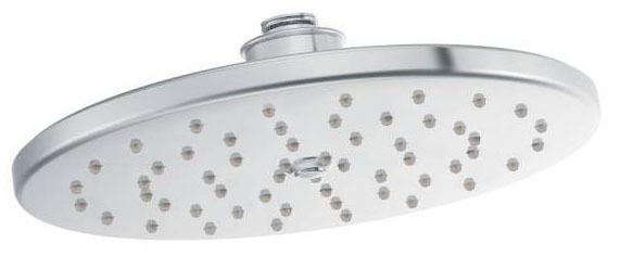 "Waterhill Chrome One-Function 10"" Diameter Spray Head Rainshower Showerhead"